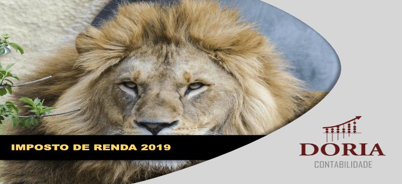 Imposto de Renda 2019: Ano novo, regras novas. Vamos conhecê-las?