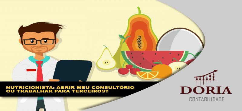 Consultório de Nutrição: abrir o meu ou trabalhar em clínicas especializadas?